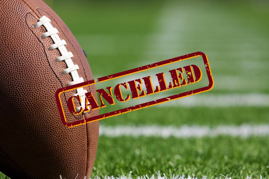 JV Football Game Cancelled