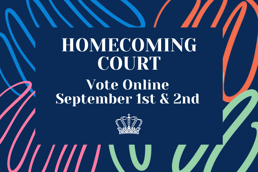 Homecoming Court Voting Online