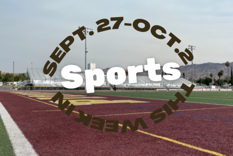 This Week In Sports Sept. 27-Oct. 1