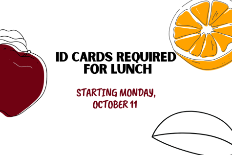 ID Cards Required for Lunch